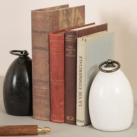 Rustic Bookends