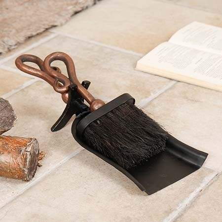 Fireplace Brush and Scoop Hearth Sets