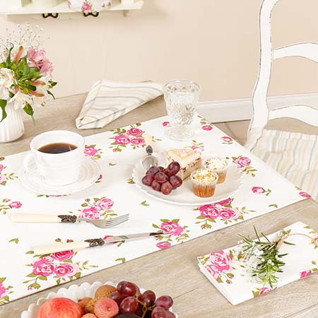 French Country Table Linen