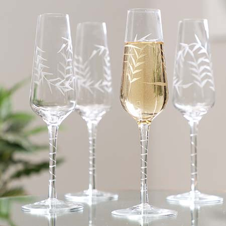 Luxury Champagne Flutes & Champagne Glasses