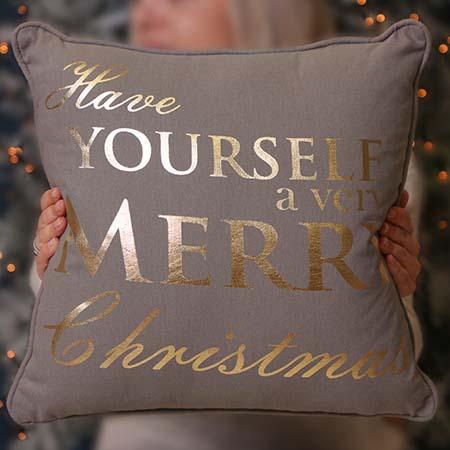 Festive Christmas Cushions