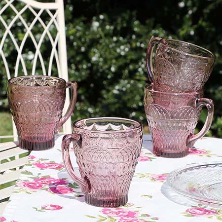 Contemporary Glass Mugs