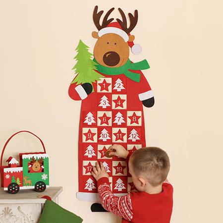 Festive Christmas Advent Calendars
