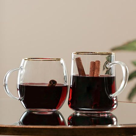 Contemporary Glass Mugs