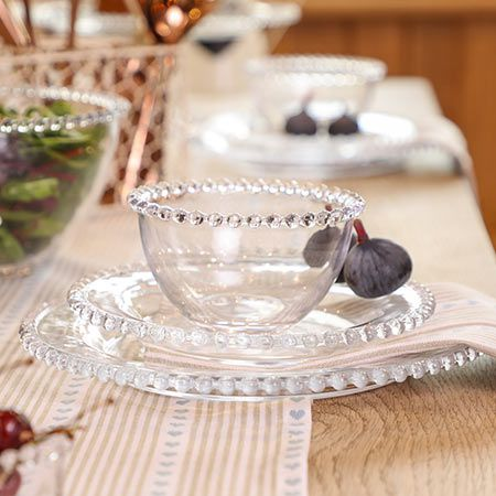 Bella Perle Glass Tableware