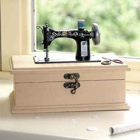 Vintage Style Sewing Boxes
