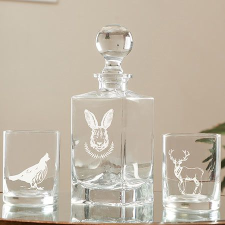 Vintage French Decanters
