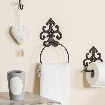 French Country Style Bathroom Accessories