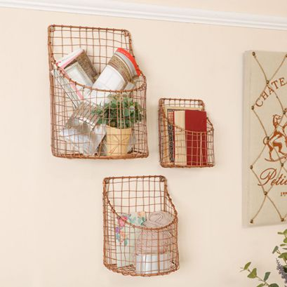 Storage Baskets, Storage Boxes and Bins