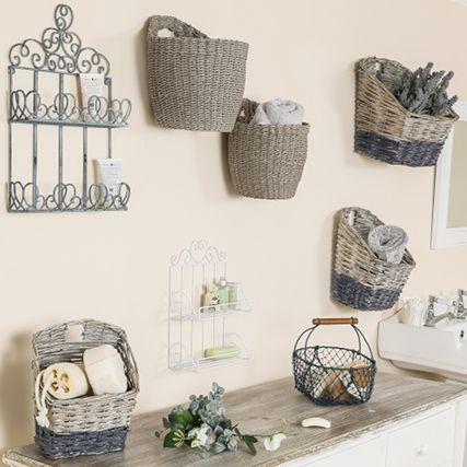 Bathroom Storage Baskets & Jars
