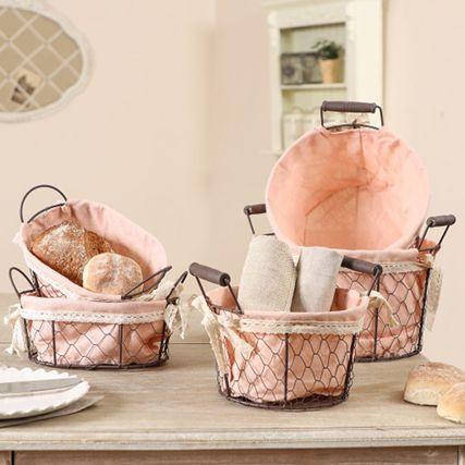 Bread Bins and Bread Baskets