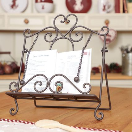Vintage Cookbook Stands & Recipe Holders