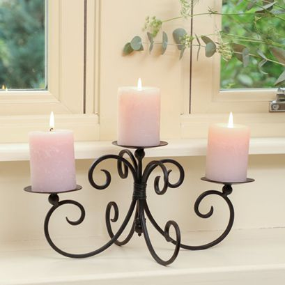 French Country Candle Holders