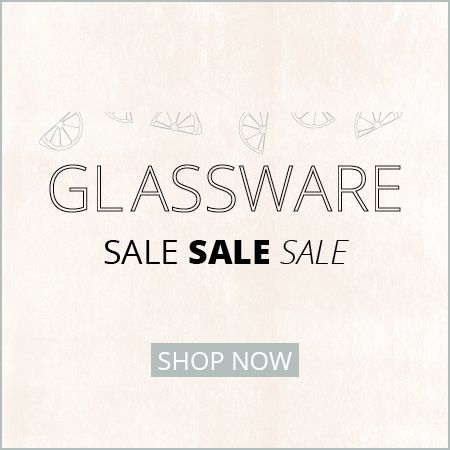 View all glassware clearance