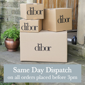 Same day dispatch on all orders placed before 2pm