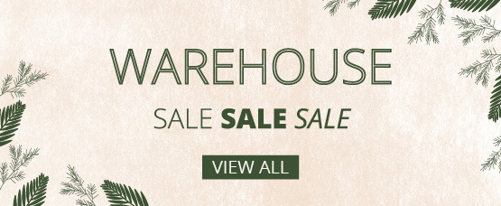 Warehouse clearance sale now on