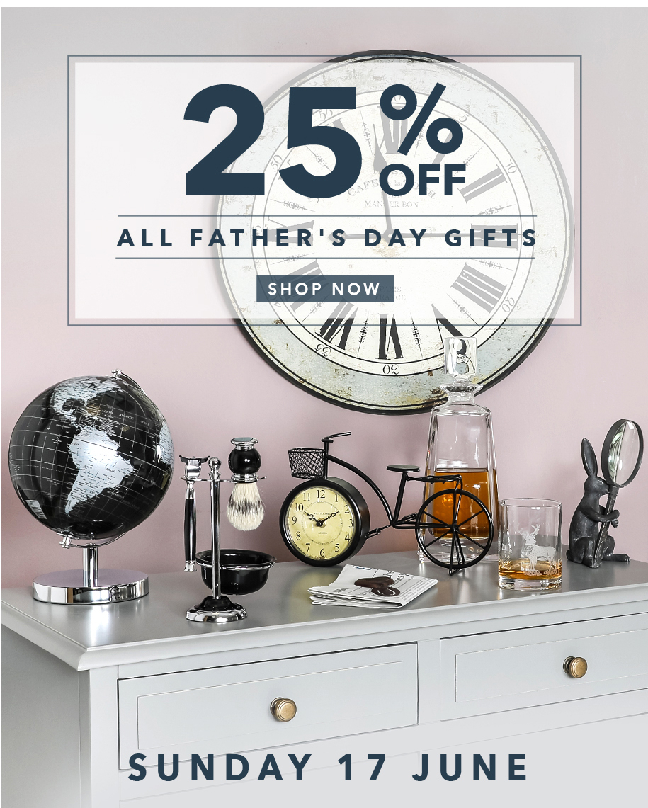 25% off all Father's Day gifts